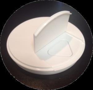 3in flipper lid